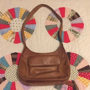 Light Brown Fossil Purse.